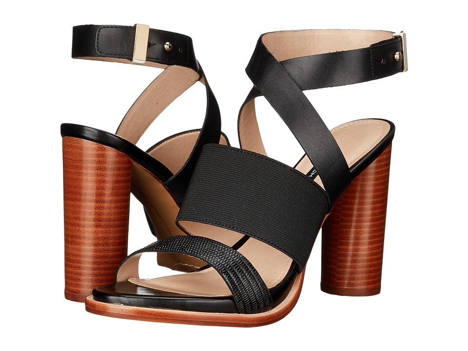 French Connection - Umeko (Black/Black/Black) High Heels