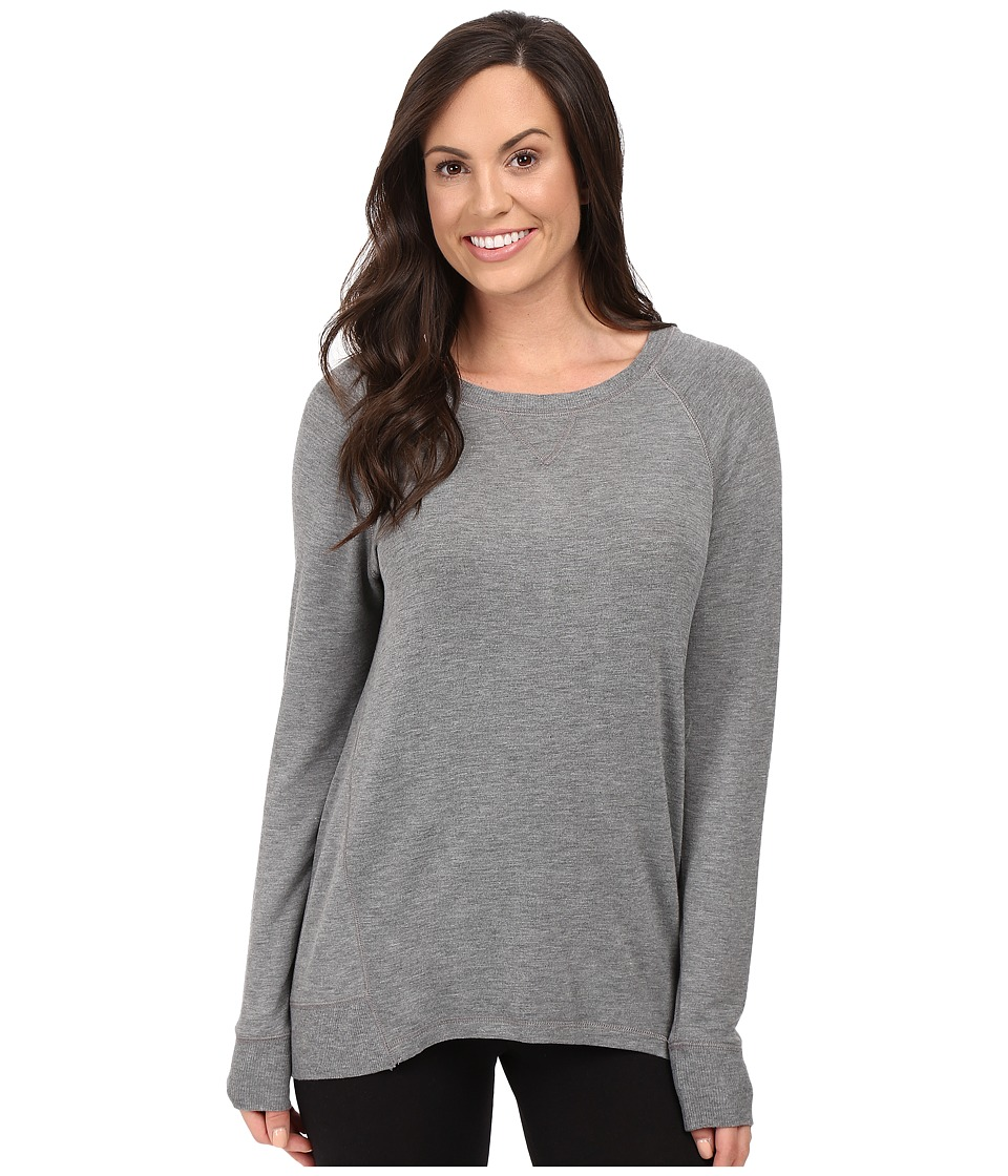 P.J. Salvage - Lounge Essentials Sweatshirt (Heather Grey) Women's Pajama