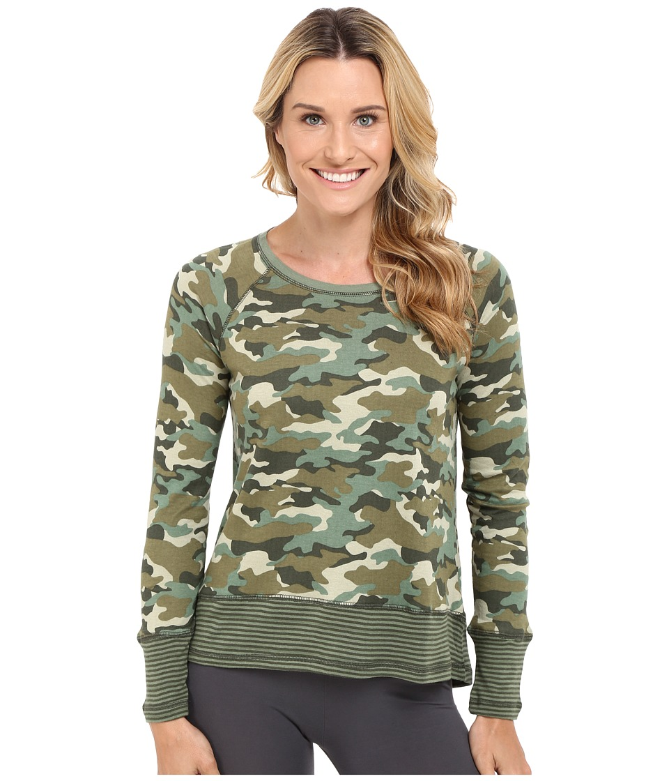 P.J. Salvage - Mission Bound Jersey Top (Camo) Women's Pajama