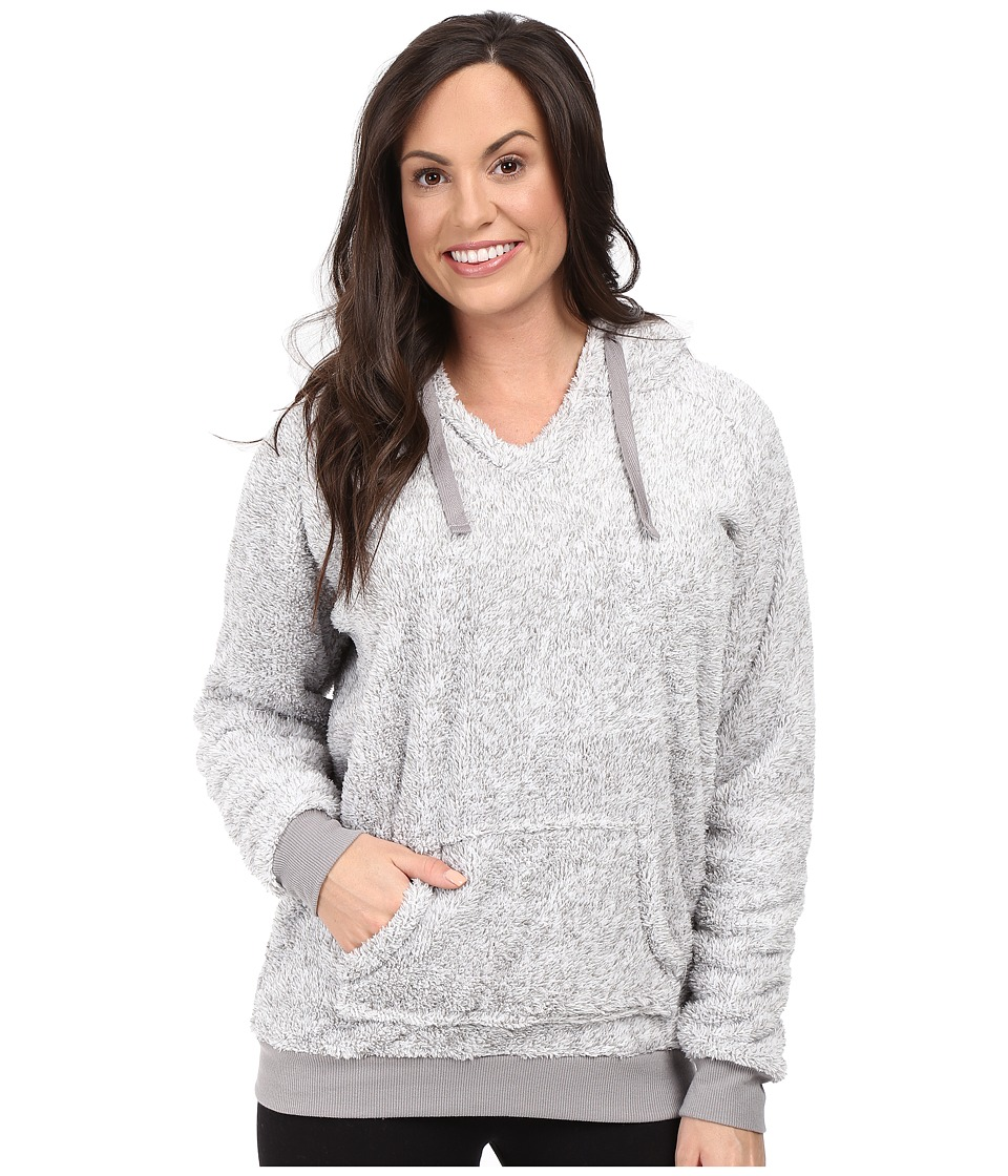 P.J. Salvage - Cozy Hoodie (Heather Grey) Women's Pajama