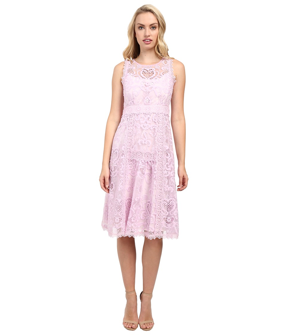 Nanette Lepore Lovely Lace Dress (Petal) Women