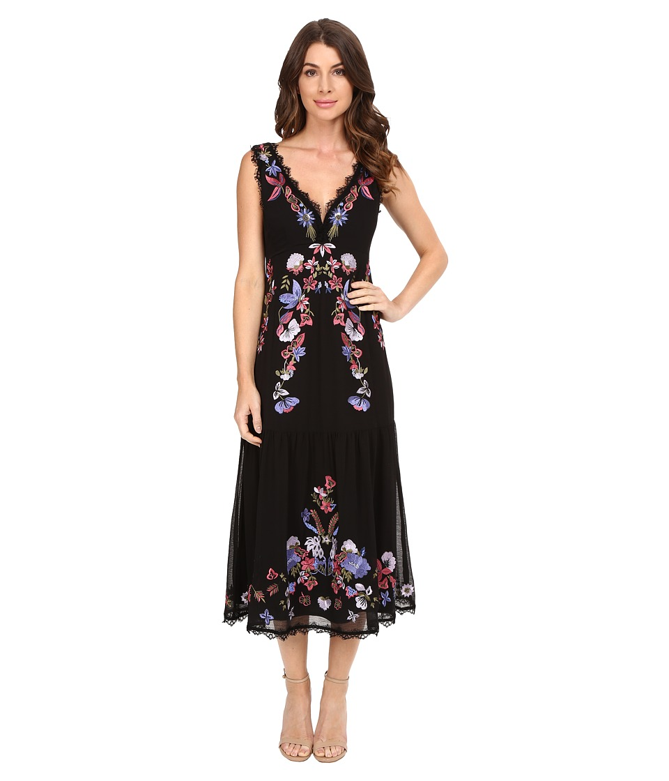Nanette Lepore Summer Soiree Sheath (Black Multi) Women
