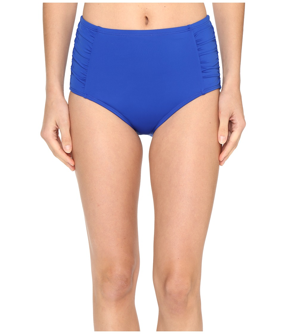 Jantzen - Signature Solids High Waist Bottom (Seaside Blue) Women's Swimwear