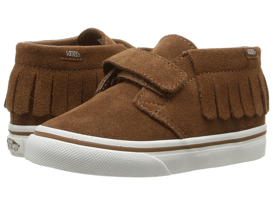 Vans Kids - Chukka V Moc (Toddler) ((Suede) Monk's Robe/Blanc De Blanc) Girls Shoes