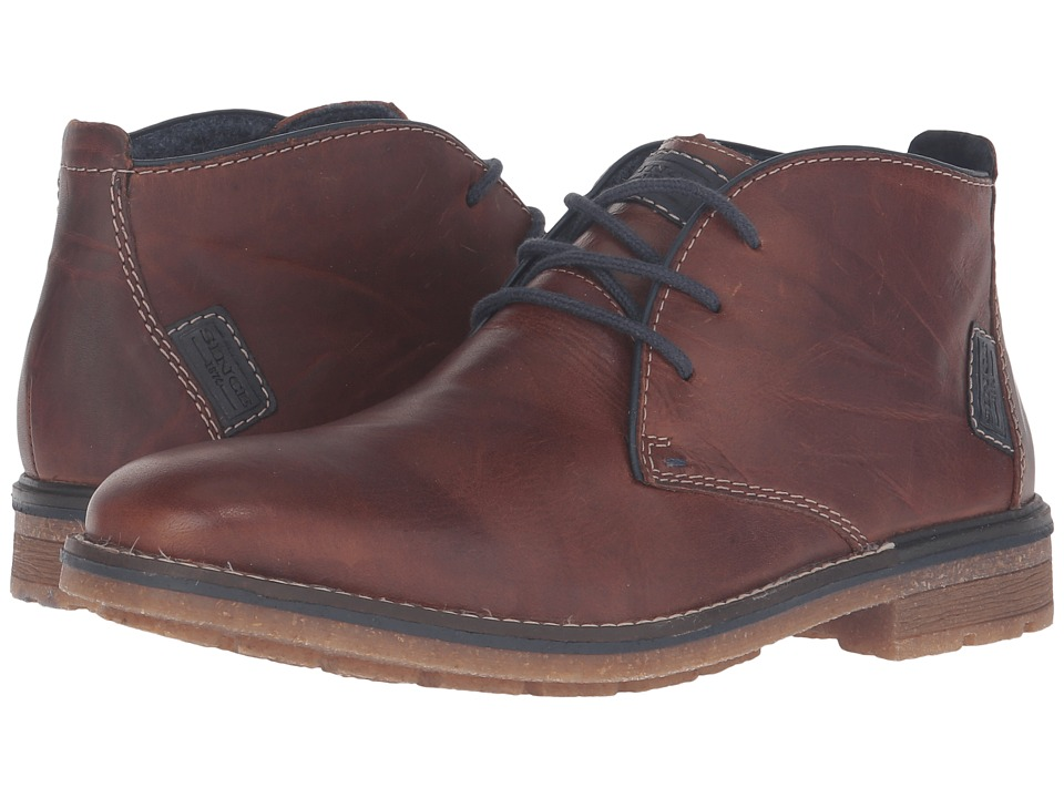 Rieker - F1310 (Marron/Navy/Ozean) Men's Boots