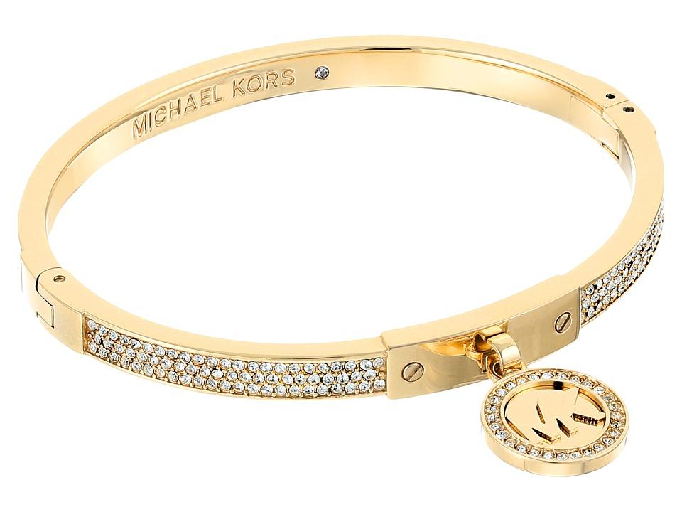 Michael Kors - Fulton Hinge Bracelet (Gold) Bracelet