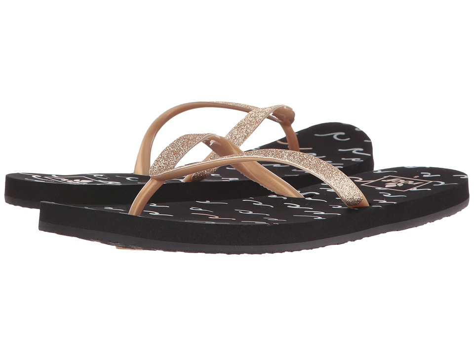 Reef - Stargazer Prints (Black/Gold 2) Women's Sandals