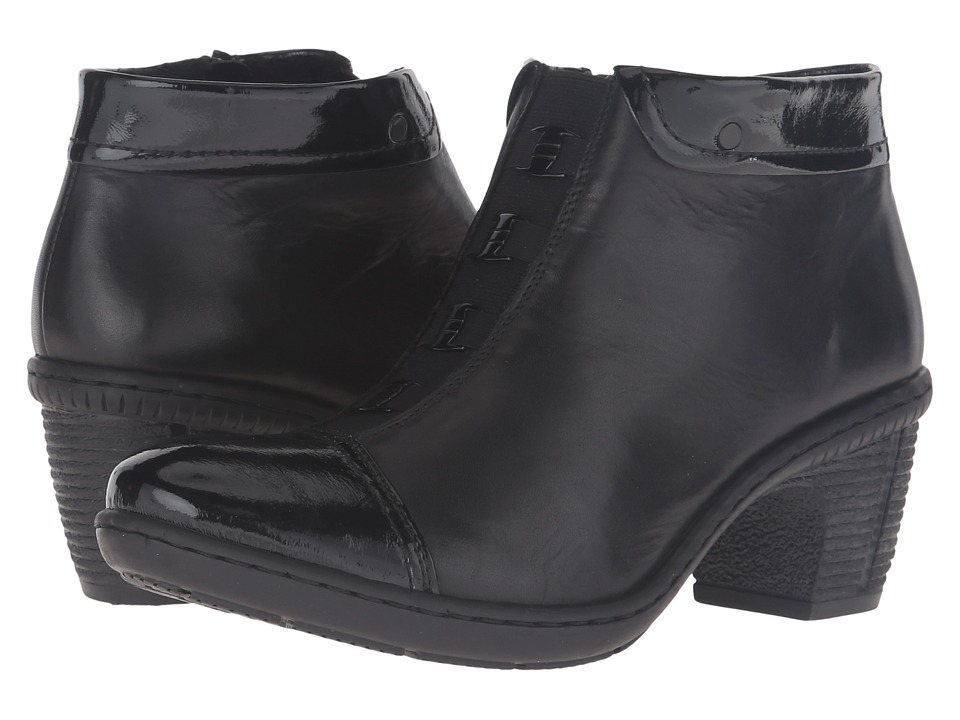 Rieker 50292 (Black/Black) Women