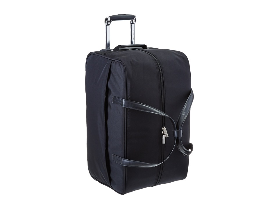 Calvin Klein - Greenwich 2.0 22 Wheeled Duffel (Black) Pullman Luggage