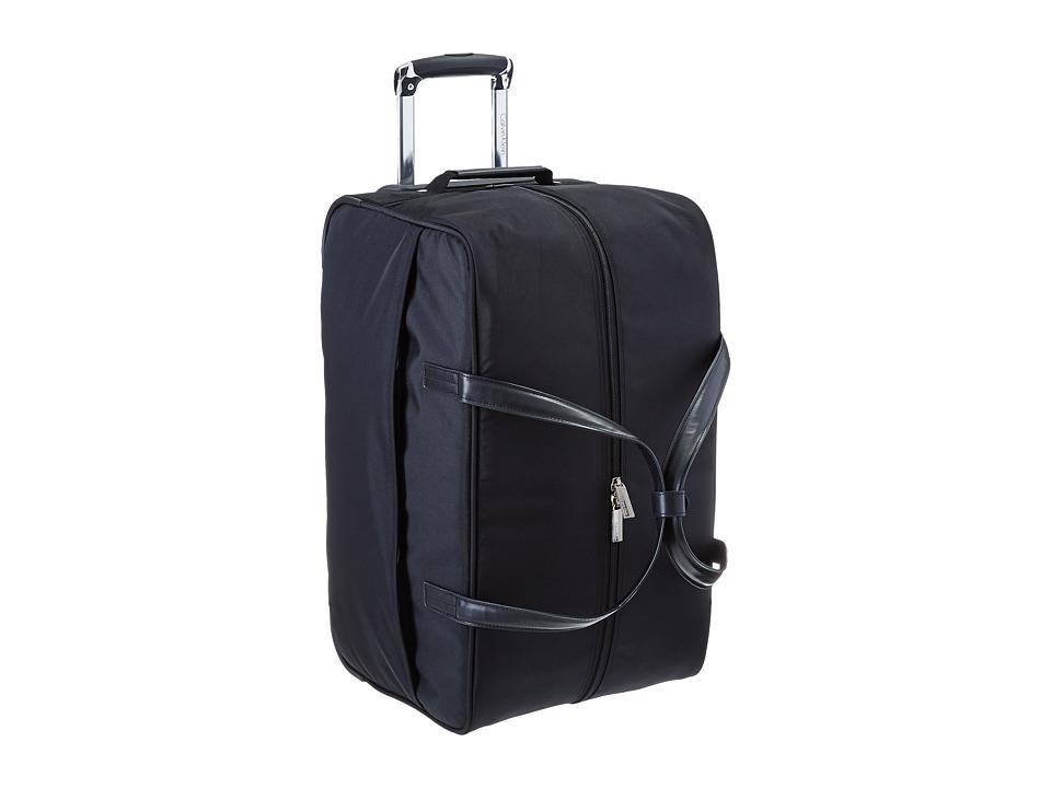 Calvin Klein - Greenwich 2.0 22 Wheeled Duffel (Black) Pullman Luggage