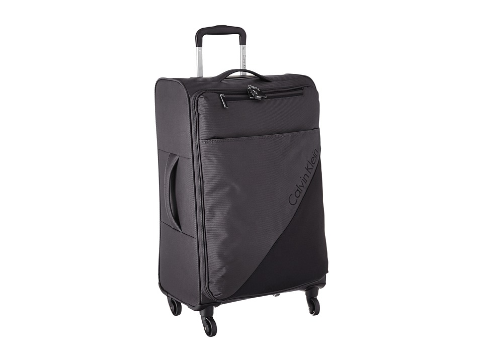 Calvin Klein - Chelsea 25 Upright Suitcase (Anthracite) Luggage