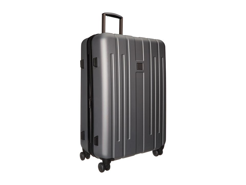 Calvin Klein - Cortlandt 3.0 28 Upright Suitcase (Silver) Luggage