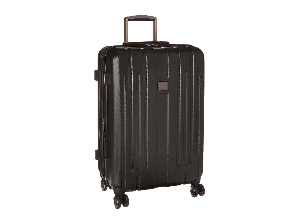 Calvin Klein - Cortlandt 3.0 24 Upright Suitcase (Black) Weekender/Overnight Luggage