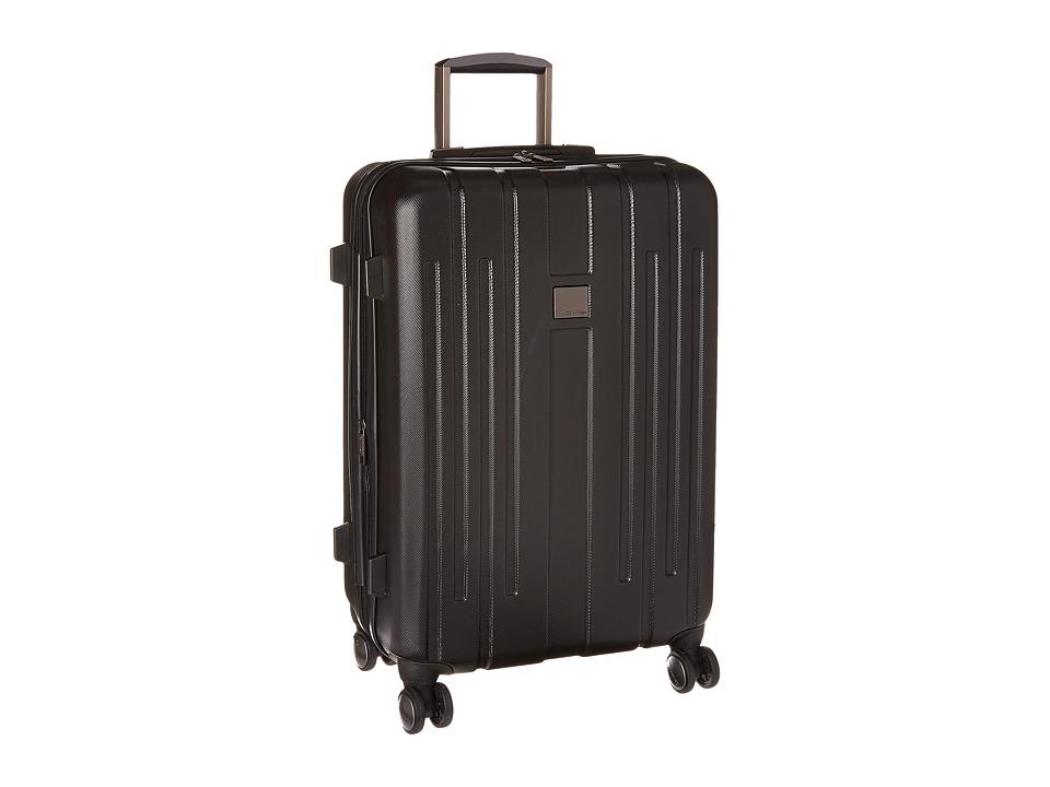 Calvin Klein - Cortlandt 3.0 24 Upright Suitcase (Black) Weekender/Overnight Luggage
