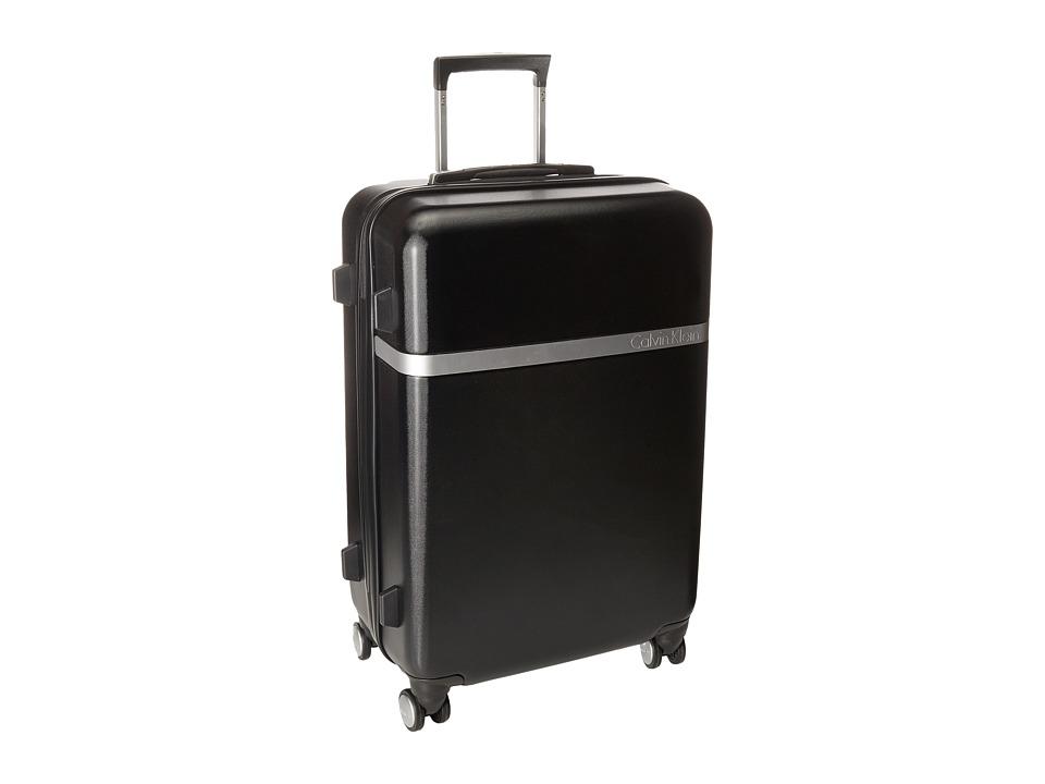 Calvin Klein - Libertad 2.0 24 Upright Suitcase (Black) Luggage