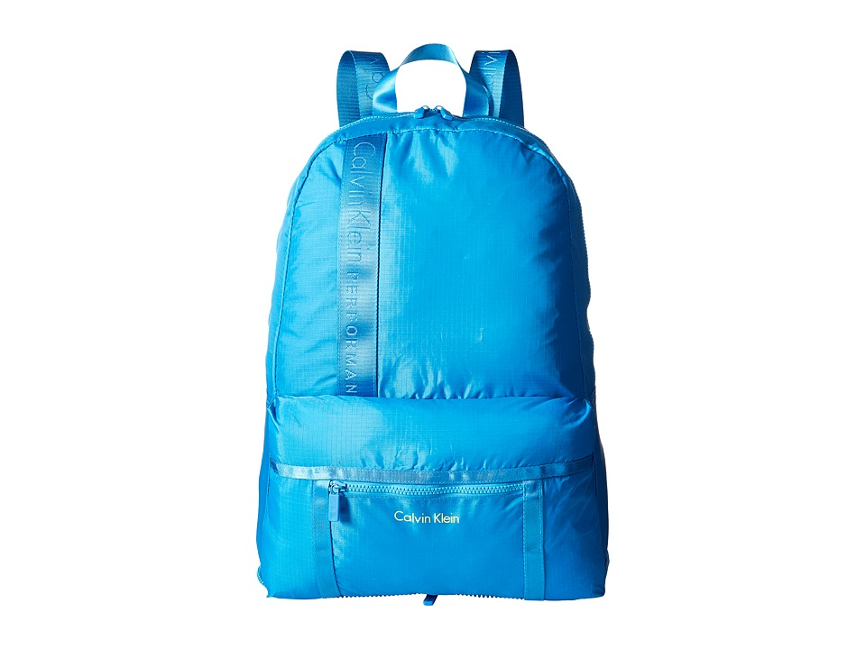 Calvin Klein - Packable Backpack (Royal Blue) Backpack Bags