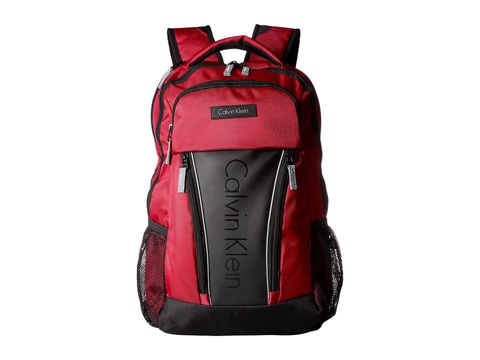 Calvin Klein - C-146 Backpack (Red) Backpack Bags
