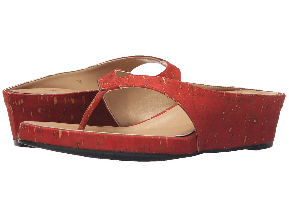 Vaneli - Klemens (Red Leol Cork) Women's Shoes