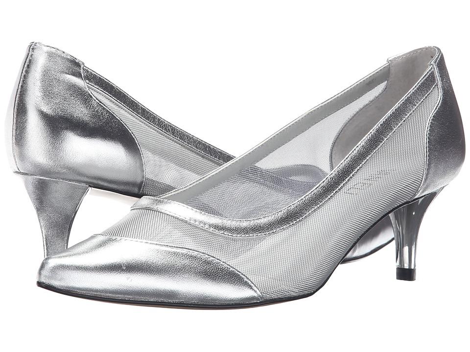 Vaneli - Tertia (Silver Nappa/Mesh) Women's Shoes