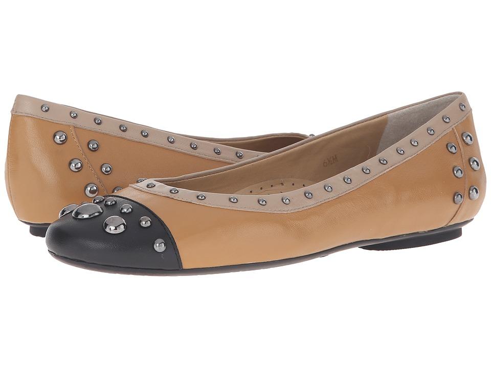 Vaneli - Saxe (Light Camel Nappa/Black/Cuoio Glam Mappa) Women's Shoes