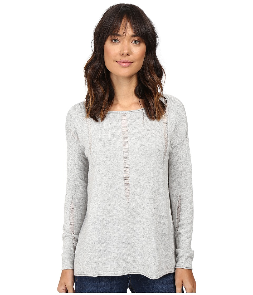 Splendid Lafayette Sweater (Light Heather Grey) Women