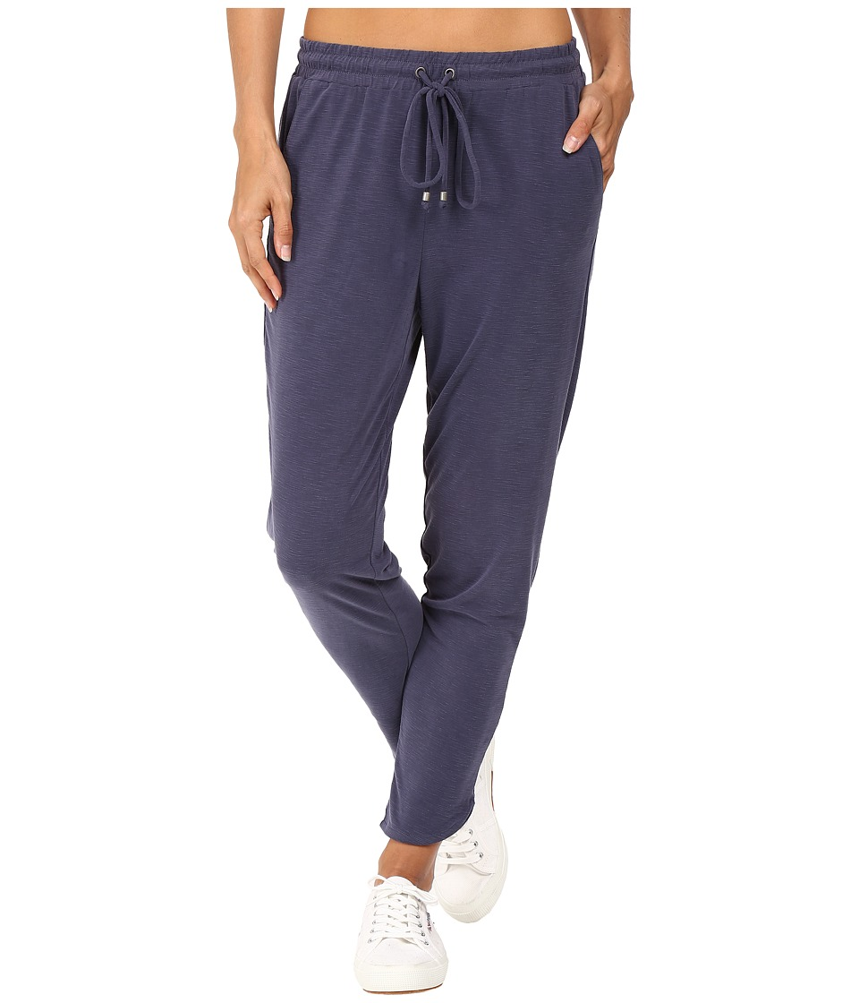 Splendid - Sandwash Draped Pant (Navy) Women's Casual Pants