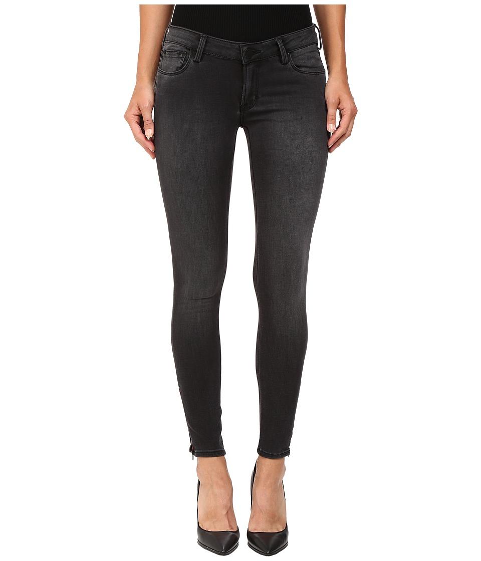 ETIENNE MARCEL - EM7010 Signature Red Zip (New Black) Women's Jeans
