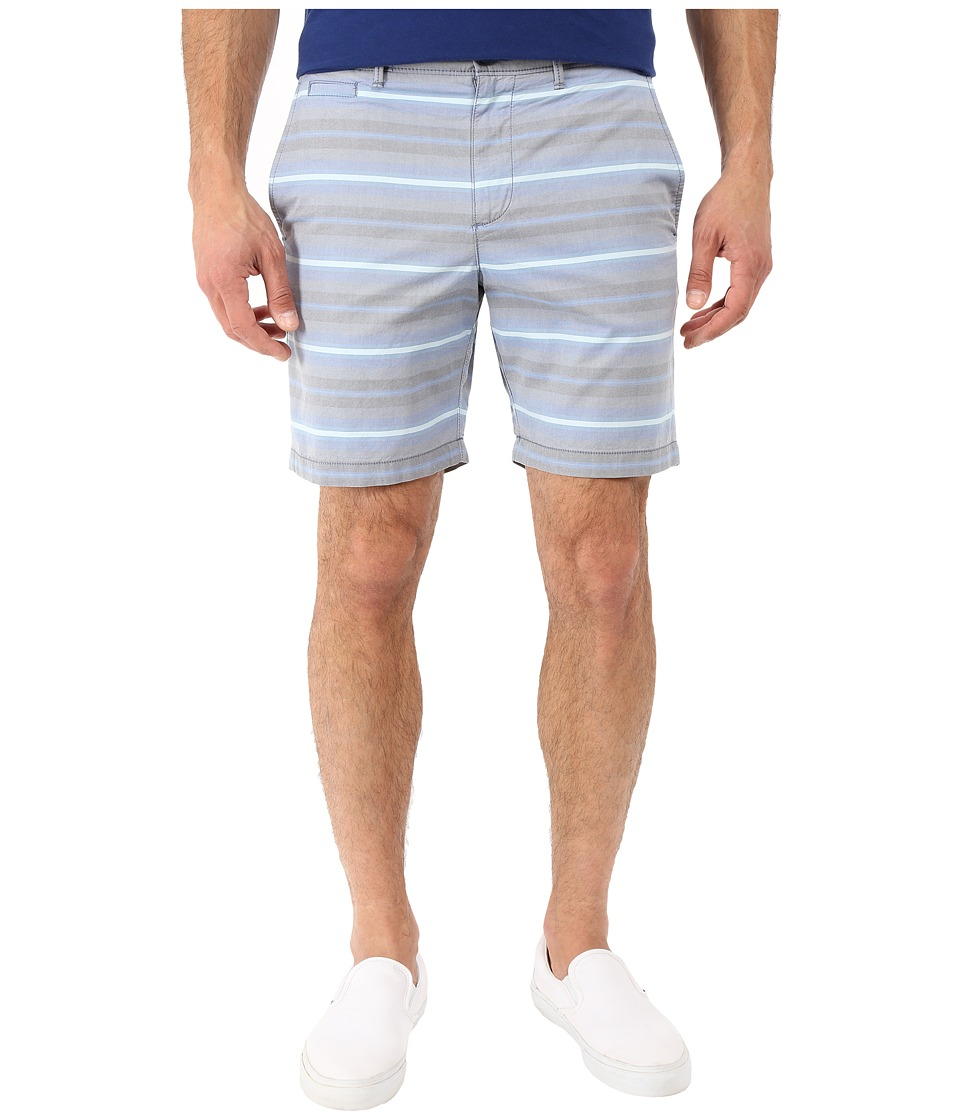 Original Penguin - P55 8 Horizontal Board Stripe Shorts (Dark Sapphire) Men's Shorts