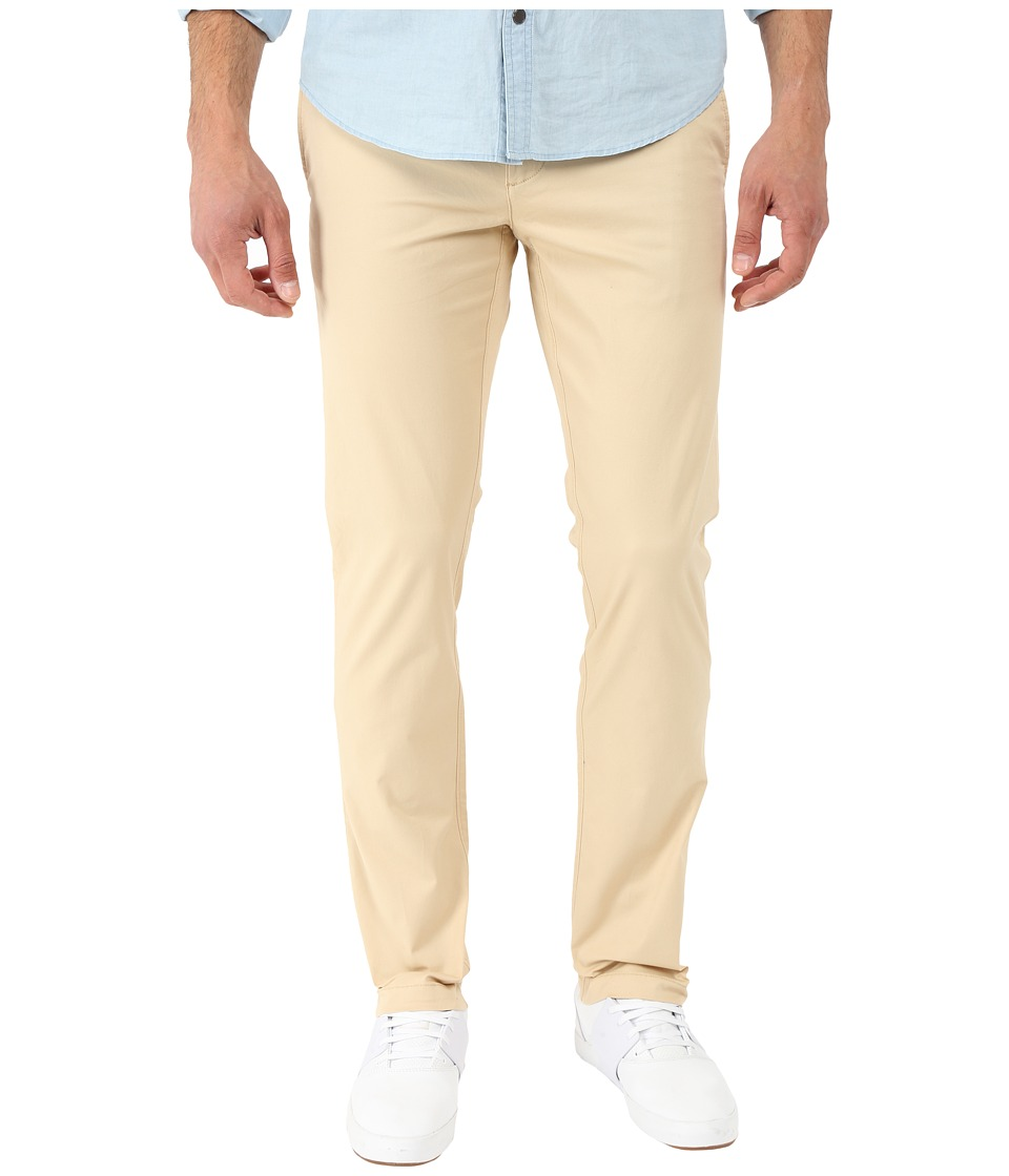 Original Penguin - P55 Lightweight Chino with 2% Stretch Slim (Pale Khaki) Men's Casual Pants