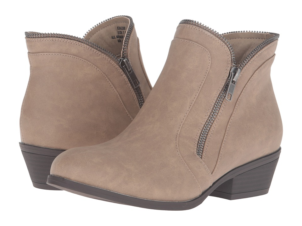 Madden Girl - Krazee (Taupe Paris) Women