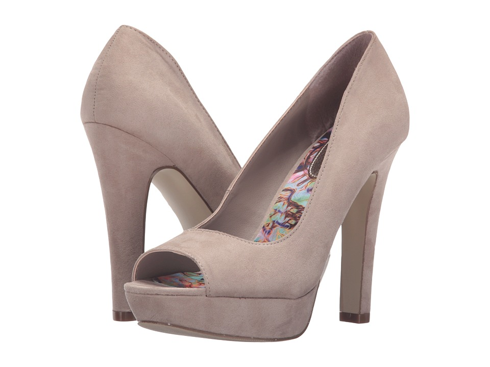 Madden Girl Sofiaa (Taupe Fabric) High Heels