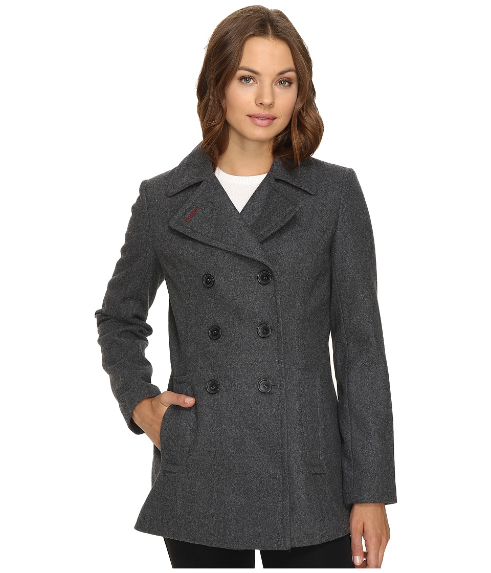 Tommy Hilfiger - TW5MW005 (Heather Grey) Women's Coat