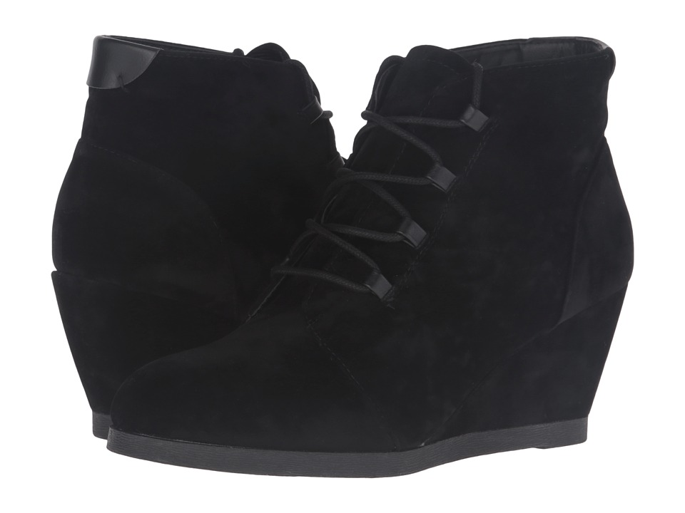 Madden Girl - Deenaaa (Black Fabric) Women's Lace-up Boots