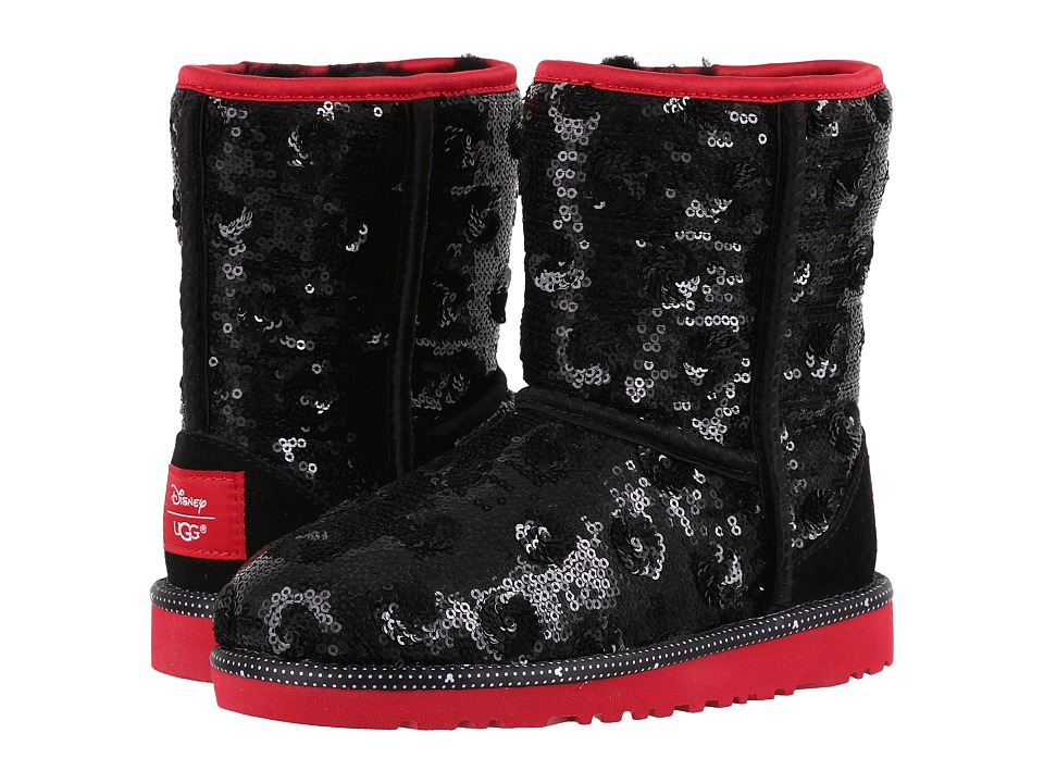 UGG Kids - Minerva (Little Kid/Big Kid) (Black) Girl's Shoes