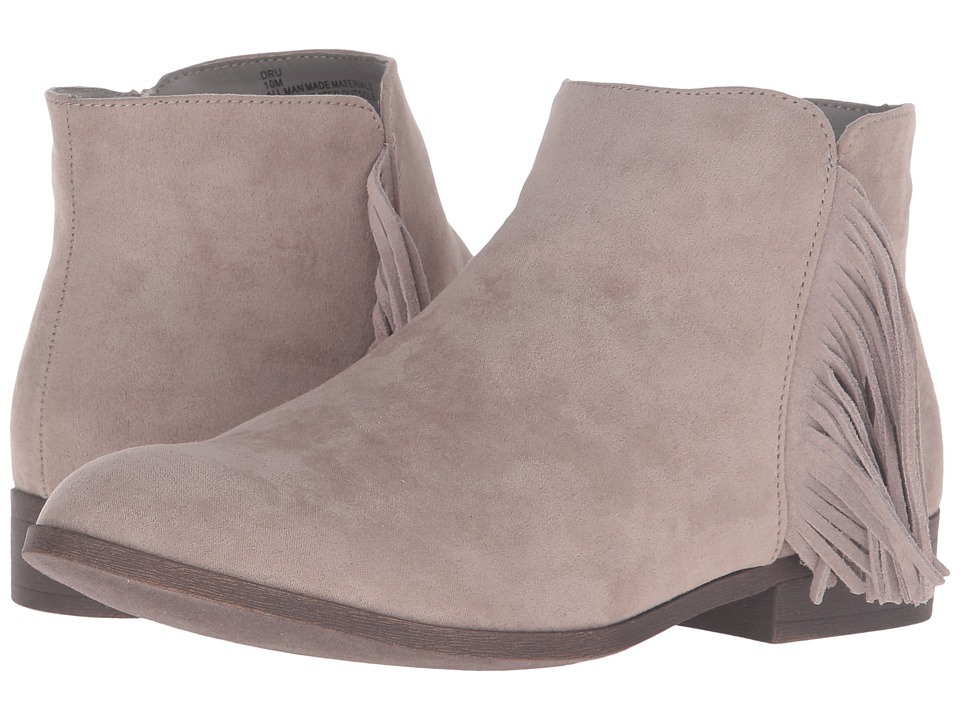 Madden Girl - Dru (Taupe Fabric) Women