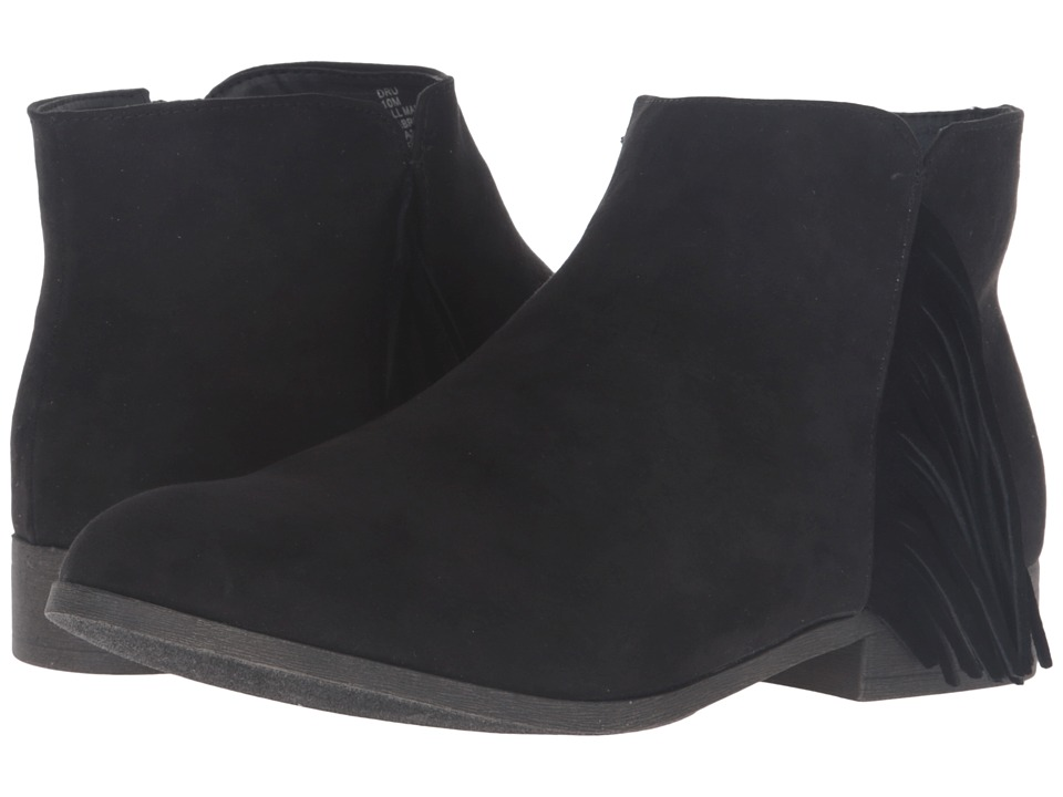 Madden Girl - Dru (Black Fabric) Women's Boots