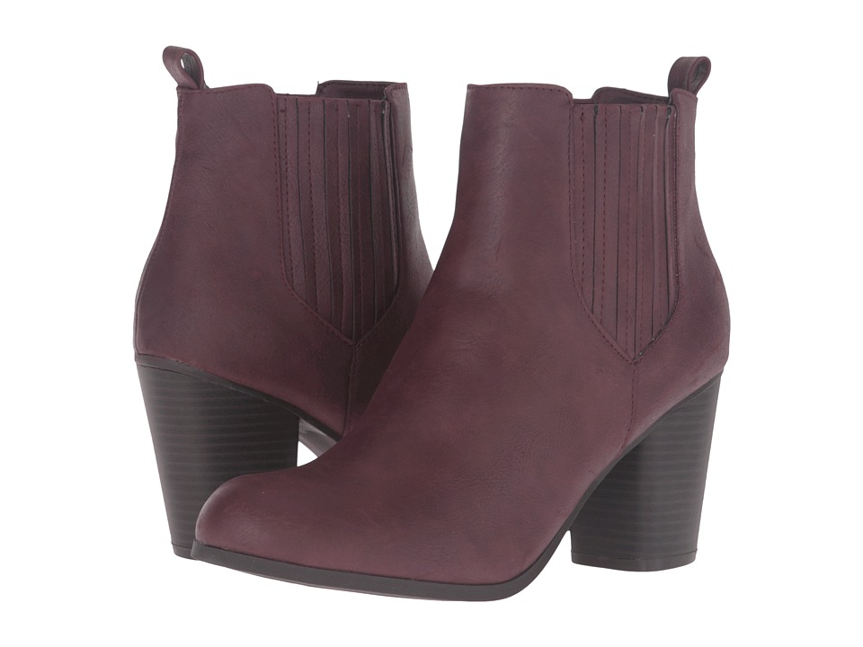 Madden Girl - Davinna (Burgundy) Women