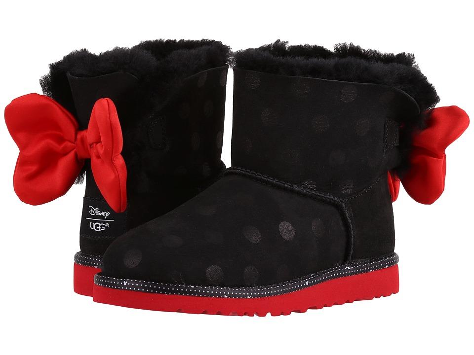 UGG Kids - Sweetie Bow (Little Kid/Big Kid) (Black) Girl's Shoes