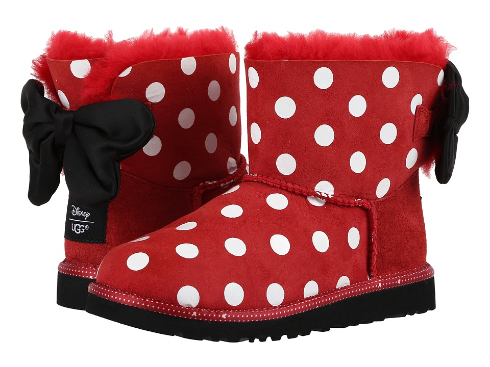 UGG Kids - Sweetie Bow (Little Kid/Big Kid) (Red) Girl's Shoes