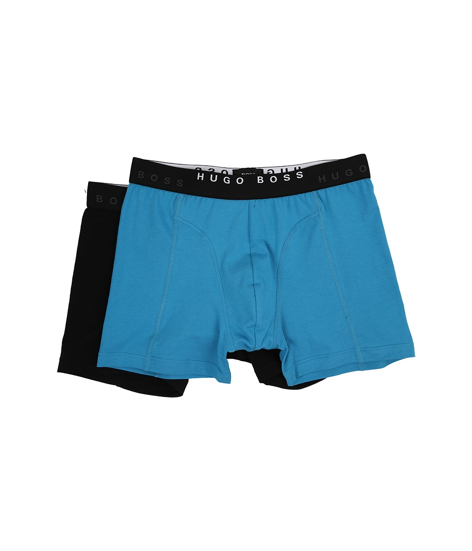 BOSS Hugo Boss - Cyclist Solid 2-Pack (Open Blue) Men's Underwear