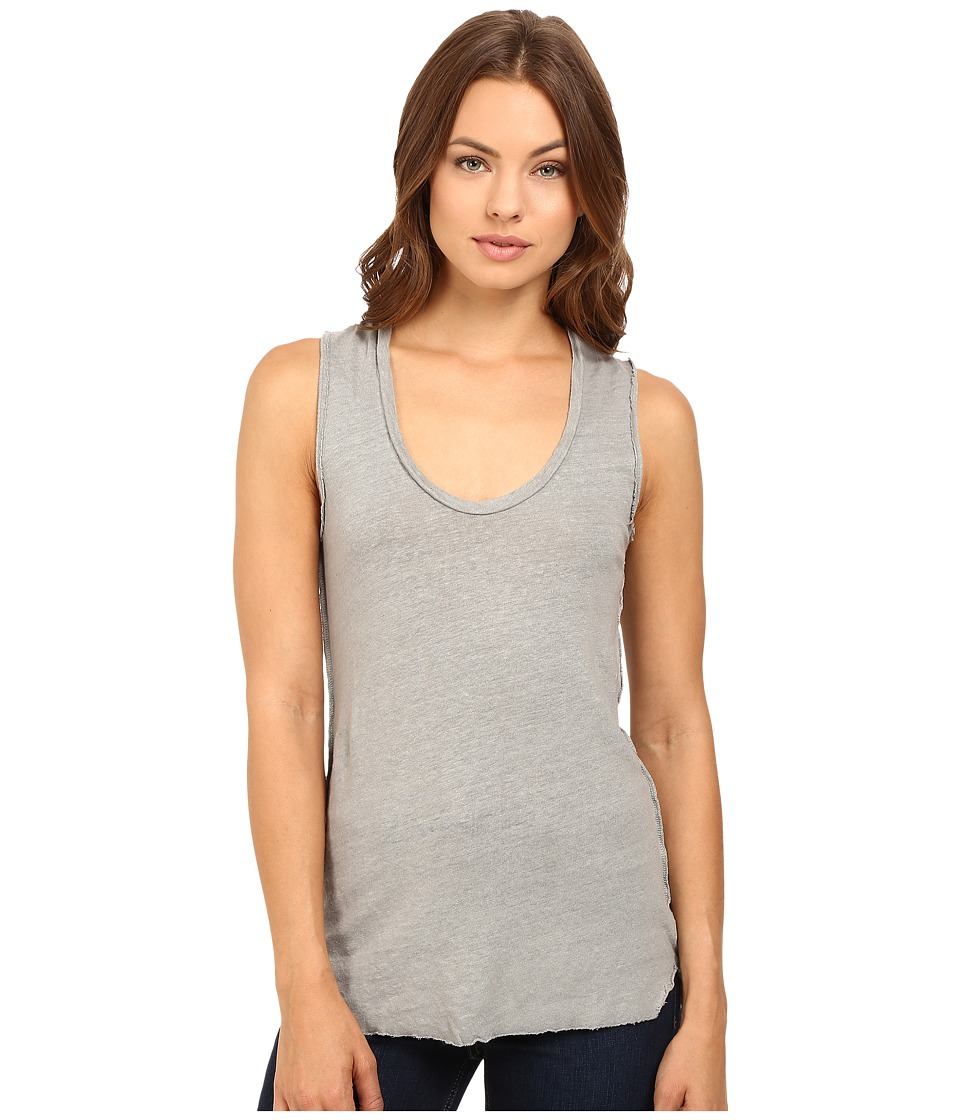Project Social T - Boardwalk Linen Tank Top (Paloma) Women's Sleeveless