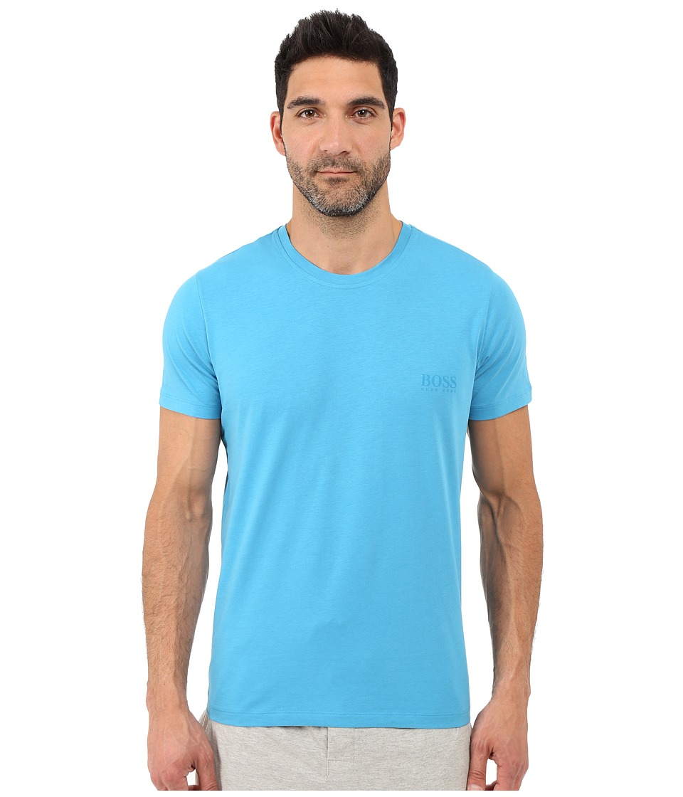 BOSS Hugo Boss - Shirt S/S RN 24 (Turquoise/Aqua) Men's Short Sleeve Pullover