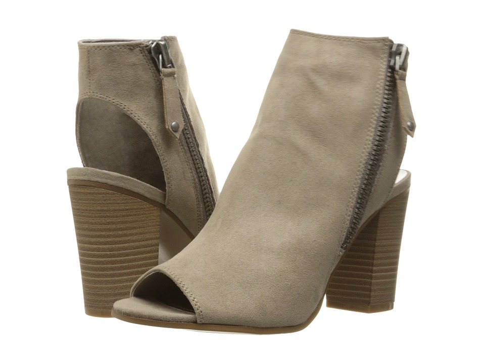 Madden Girl - Ninaaa (Taupe Fabric) Women