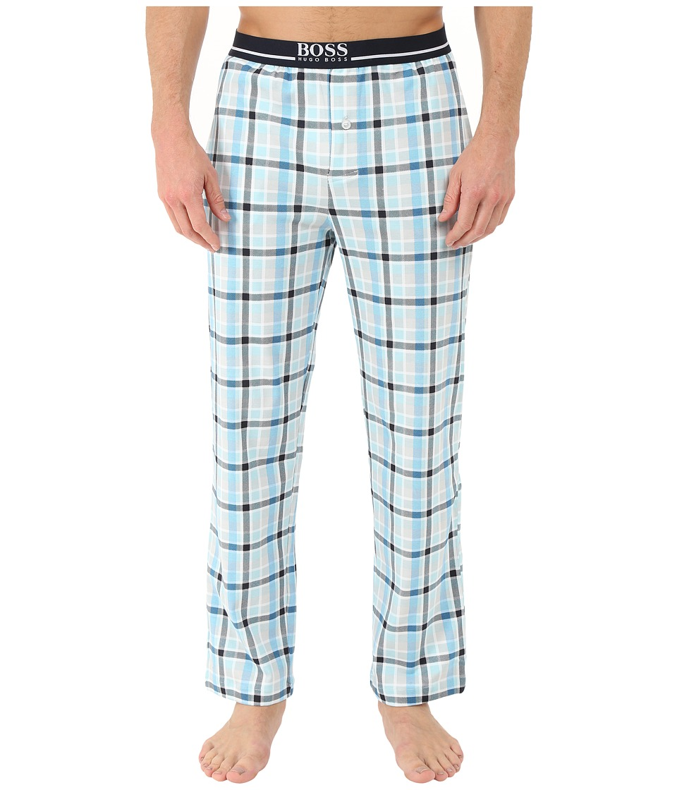 BOSS Hugo Boss - Relax Long Pants (Light/Pastel Blue) Men's Pajama