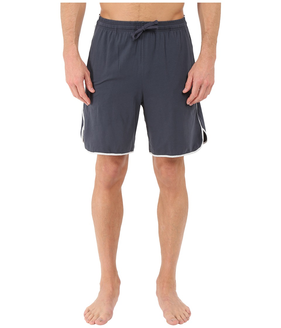 BOSS Hugo Boss - Mix and Match Cotton Stretch Shorts (Dark Blue) Men's Pajama