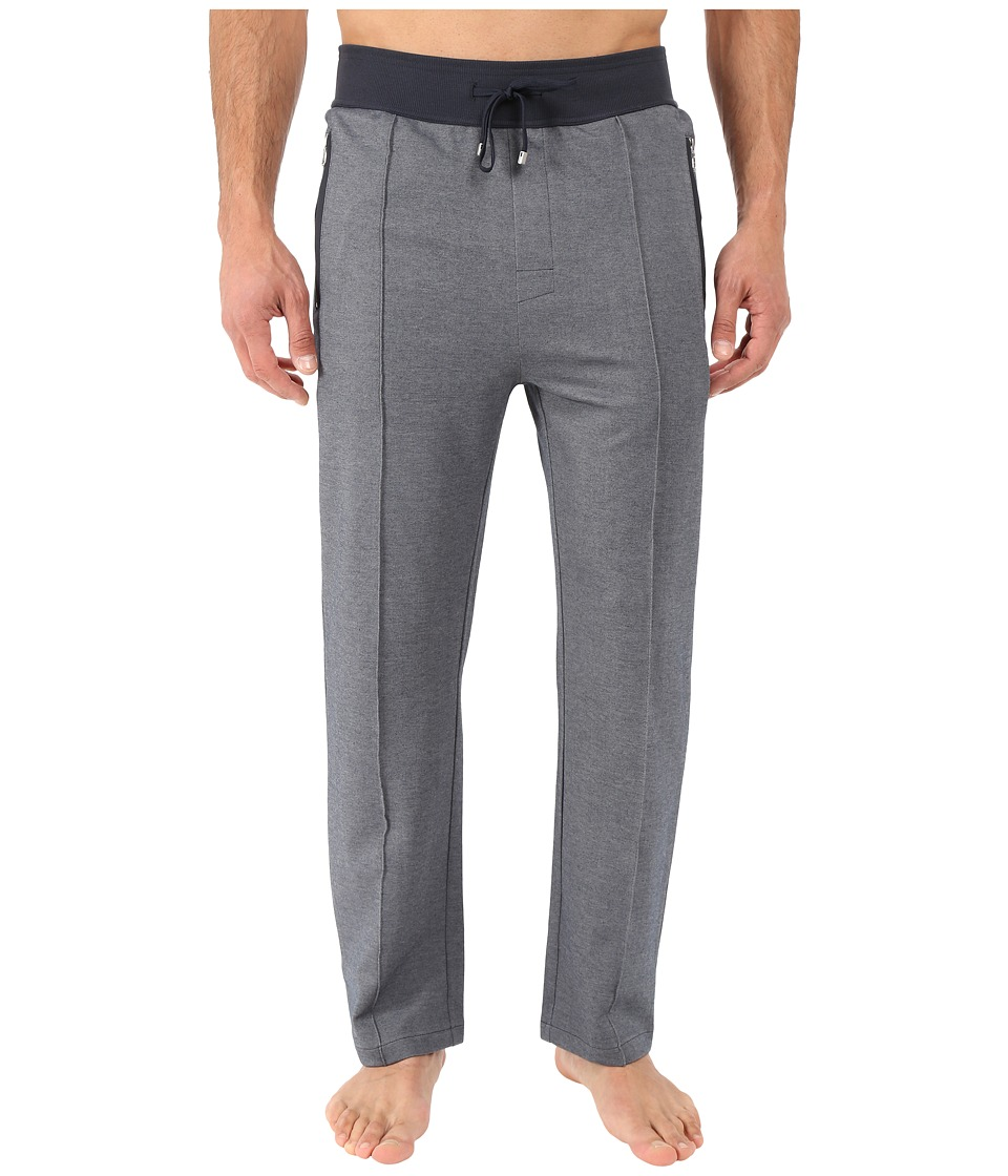 BOSS Hugo Boss - Tracksuit Open Bottom Pants (Dark Blue) Men's Pajama