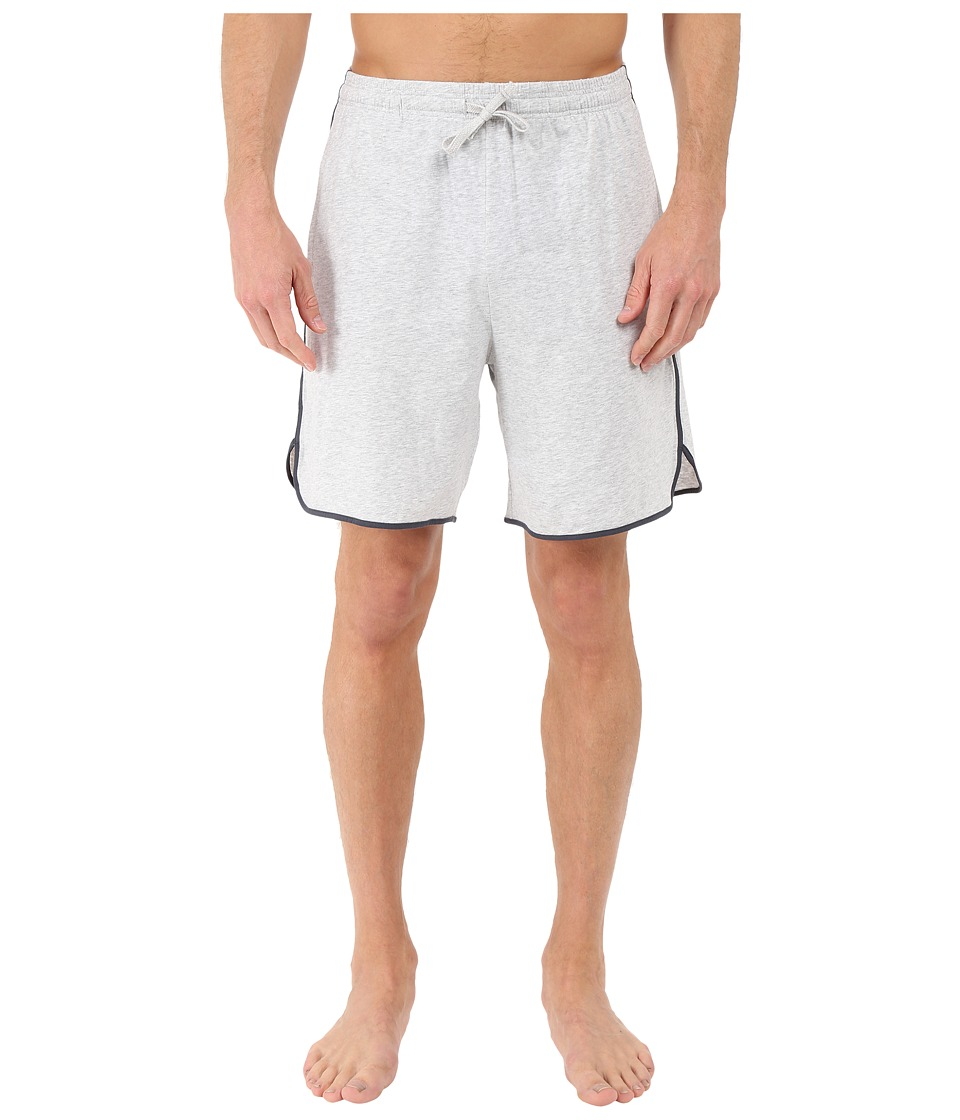 BOSS Hugo Boss - Mix and Match Cotton Stretch Shorts (Medium Grey) Men's Pajama
