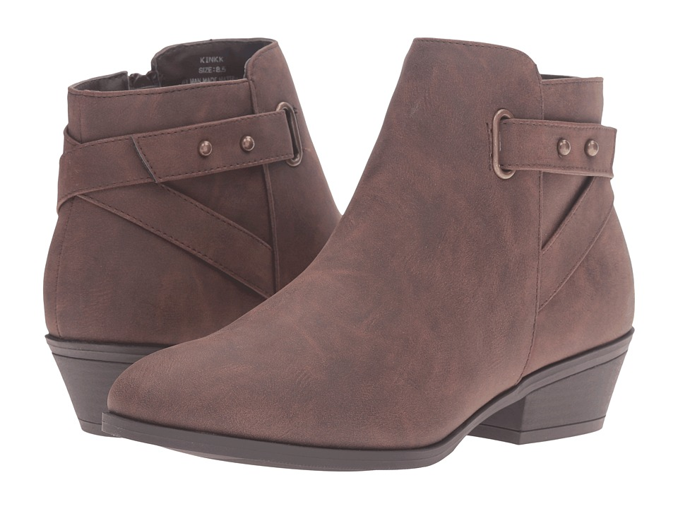 Madden Girl - Kinkk (Brown Paris) Women's Boots