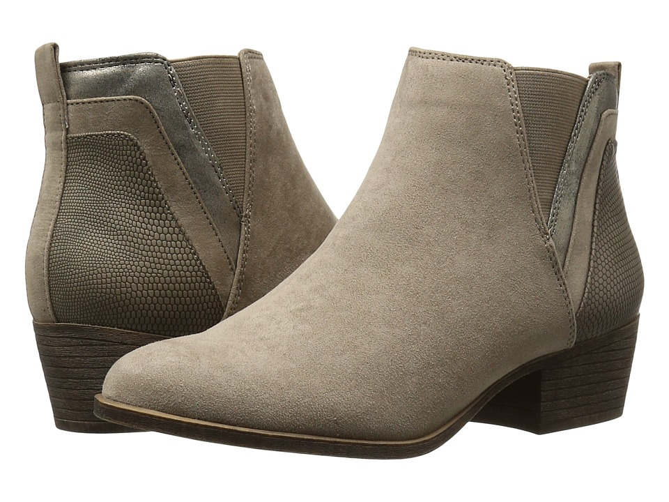 Madden Girl - Hooper (Taupe Fabric) Women's Pull-on Boots
