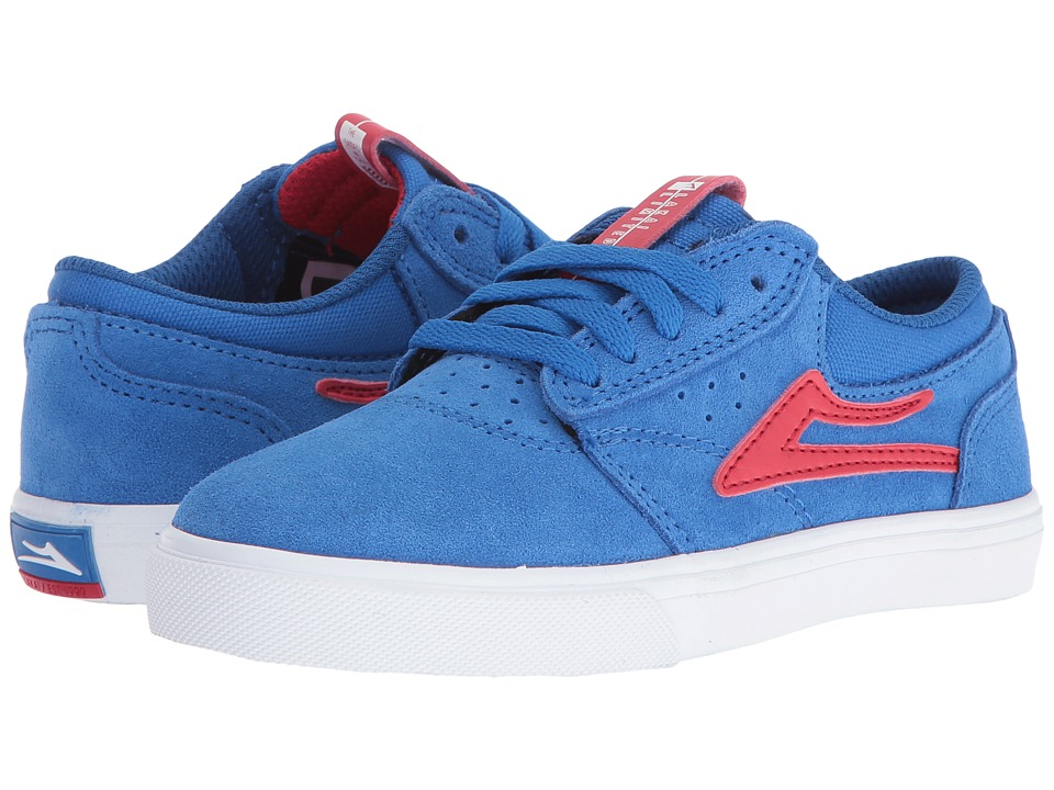 Lakai Griffin (Little Kid/Big Kid) (Royal Suede) Men